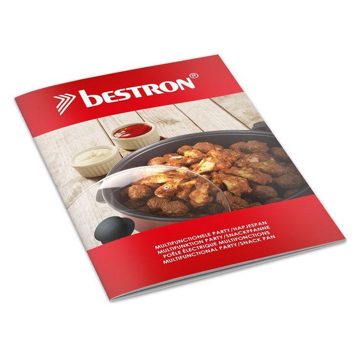 Revêtement de revêtement antiadhésif électrique de pan de partie de 1500 watts électrique de température réglable  Bestron AHP1500 – Bild 6