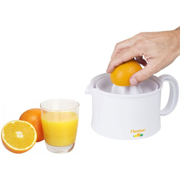 Citrus Oranges Lemon Juice Press Juicer 500ml Container Detachable Right  Left  Run Bestron AKL300 – Bild 4