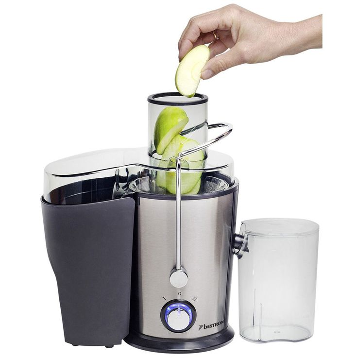 400 Watts Juicer Fruit Press Vegetable Juice 2-Levels Stainless Strainer Pastry Containers Bestron AGS326 – Bild 5