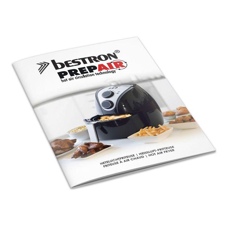 Hot Air 1350W Air Smart Fryer Fryer Oven Timer Kitchens 2.5L Black  Bestron AAF509 – Bild 8