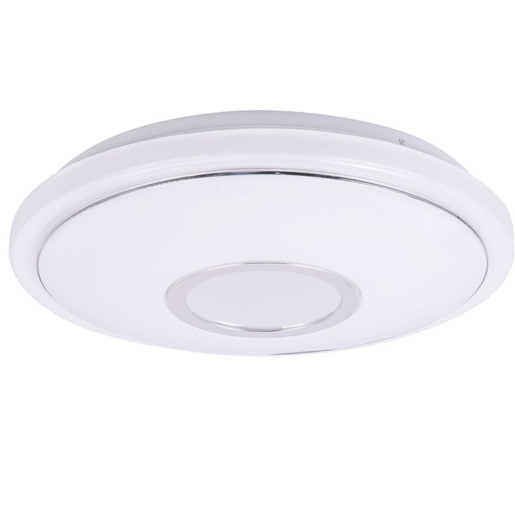 LED Ceiling Lamp Living Room Stars Sky Effect CCT Luminaire Chrome Ring Spotlight Bahag 41386  -16BH – Bild 6