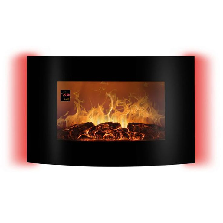 LED electric wall glass chimney flames display ambience light REMOTE CONTROL EK 6021 CB – Bild 3
