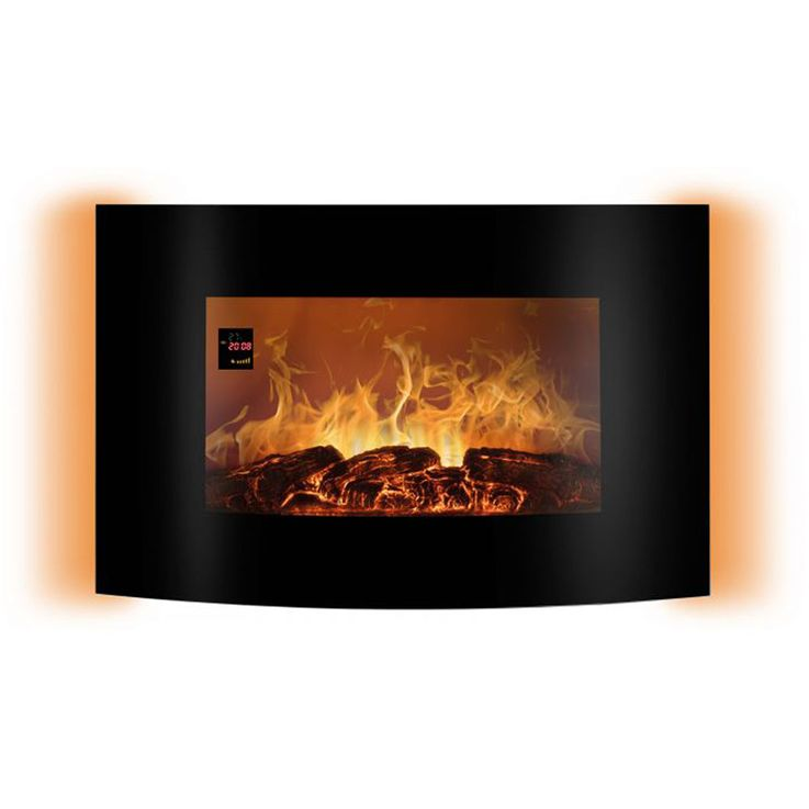 LED electric wall glass chimney flames display ambience light REMOTE CONTROL EK 6021 CB – Bild 4