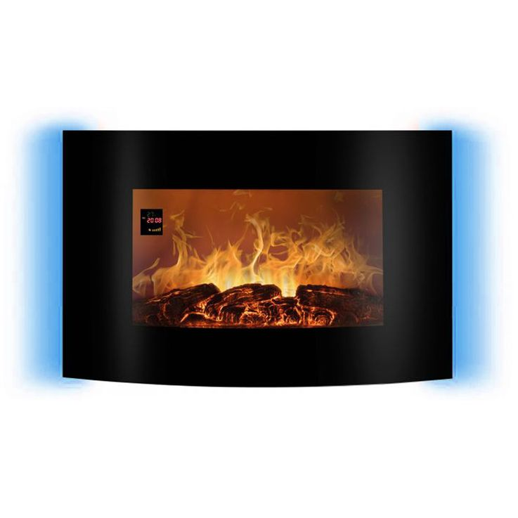 LED electric wall glass chimney flames display ambience light REMOTE CONTROL EK 6021 CB – Bild 5