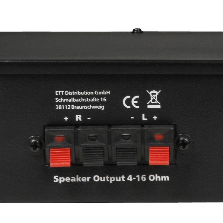 DJ PA Karaoke Compact Music Amplifier Party HiFi Amplifier AUX Micro Bluetooth  Hollywood Mini 200 – Bild 5