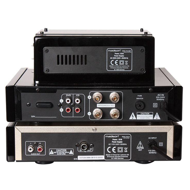Vintage CD-Player Fernbedienung ALU gebürstet Display FM-Tuner USB MP3 WJG 2001015 – Bild 5