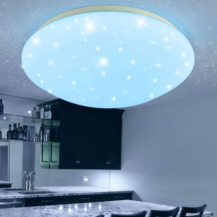 RGB LED ceiling lamp children sleep room stars sky effect lamp dimmable REMOTE CONTROL – Bild 9