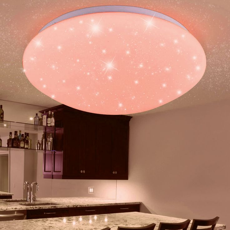 RGB LED ceiling lamp children sleep room stars sky effect lamp dimmable REMOTE CONTROL – Bild 4