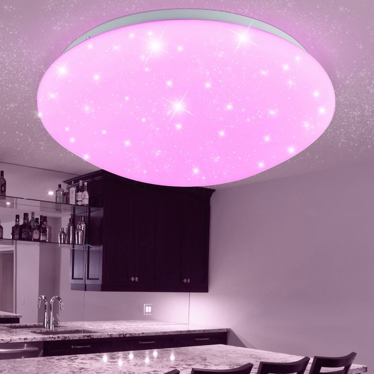 RGB LED ceiling lamp children sleep room stars sky effect lamp dimmable REMOTE CONTROL – Bild 5