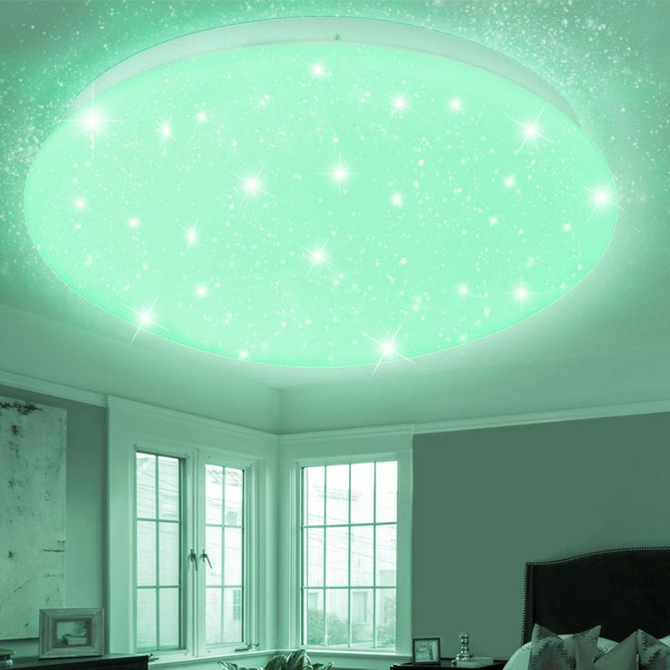 RGB LED ceiling light CCT remote control stars sky color changing lamp dimmable – Bild 5