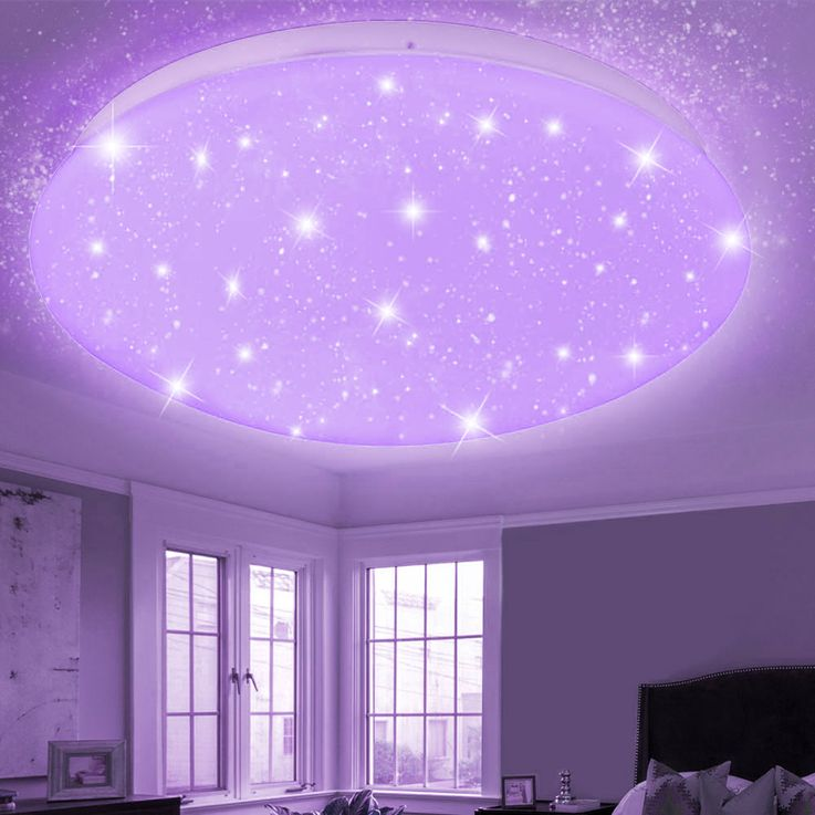 RGB LED ceiling light CCT remote control stars sky color changing lamp dimmable – Bild 7