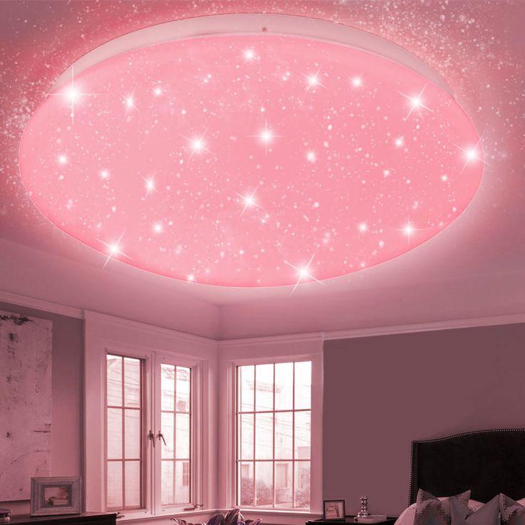 RGB LED ceiling light CCT remote control stars sky color changing lamp dimmable – Bild 8