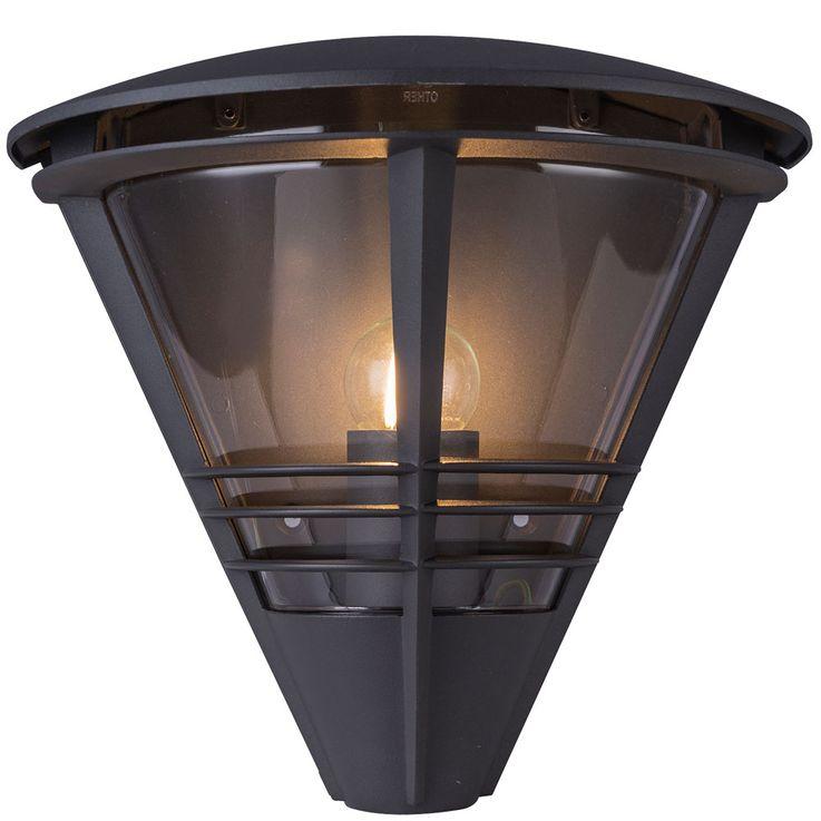 Design Outdoor Area Wall Lamp Lantern Ground Light Lamp Terrace ALU Lamp  Globo 32093A – Bild 1