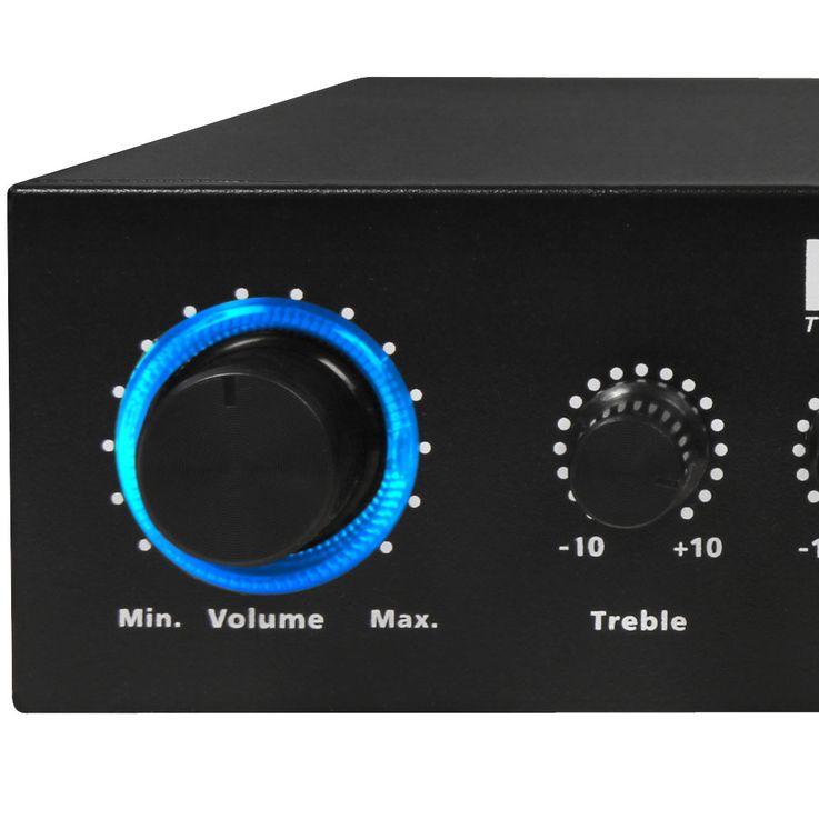 PA Party Keller Kompakt Musik Anlage Boxen Verstärker Lautsprecher Kabel DJ-MINI – Bild 7
