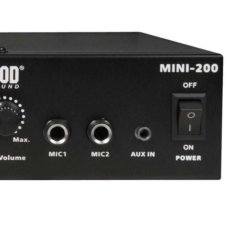 PA Party Keller Kompakt Musik Anlage Boxen Bluetooth MP3 Verstärker Mikrofone DJ-MINI 2 – Bild 9