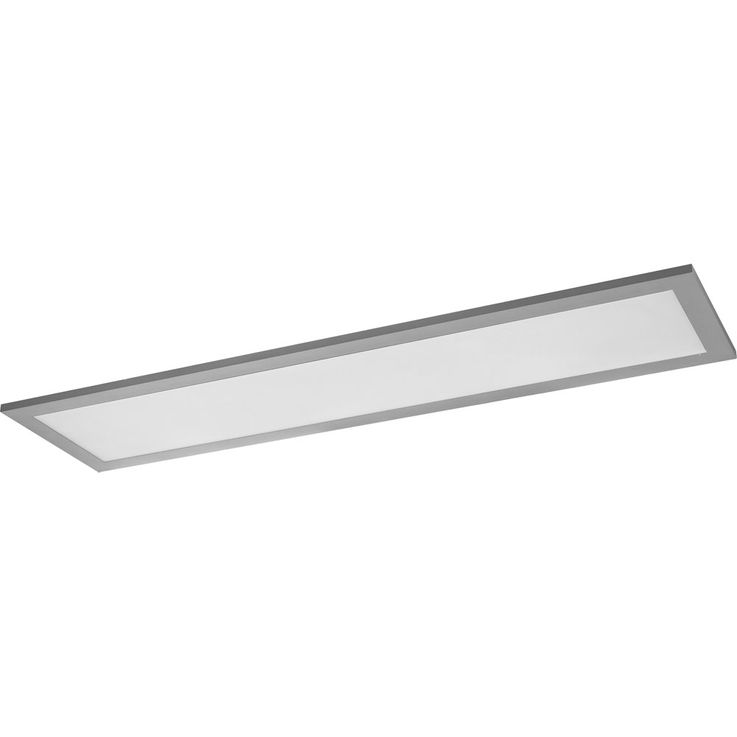 LED superstructure panel ceiling lamp living working room lighting ALU lamp DIMMABLE  Globo 41630D4 – Bild 3