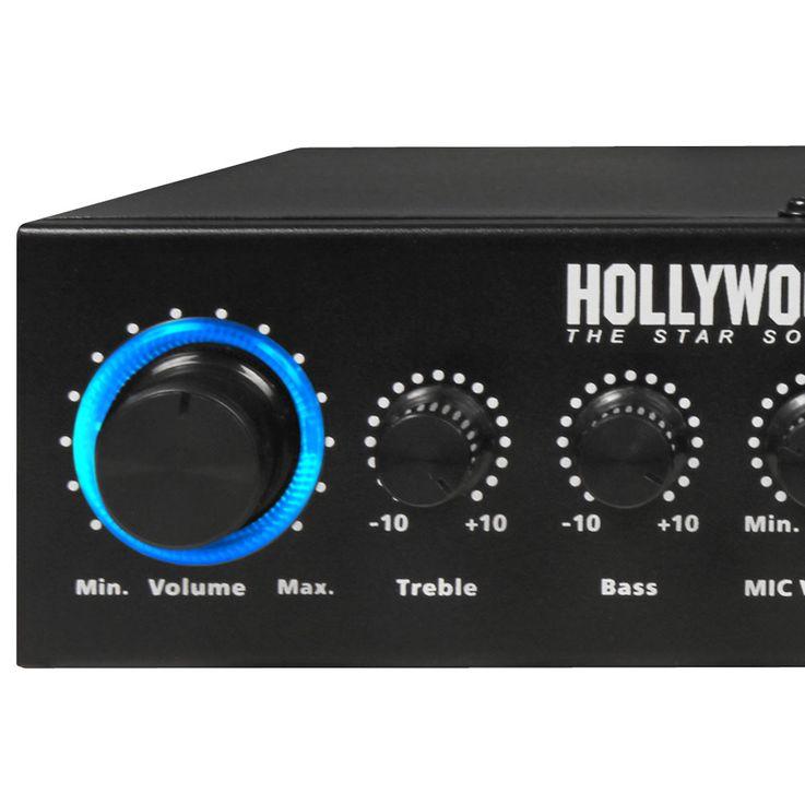 Sonorisation PA Party Boîtiers compacts pour amplificateur de musique Bluetooth MP3 Microphones Disco Strobe DJ  -MINI 3 – Bild 6