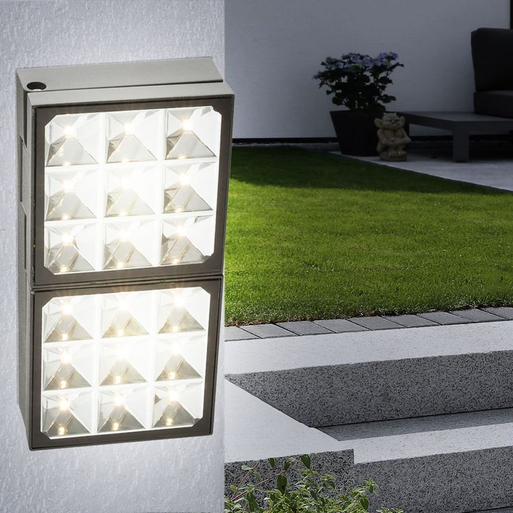 Design LED Steh- und Wandleuchte aus Aluminium Globo BOLTON  – Bild 4