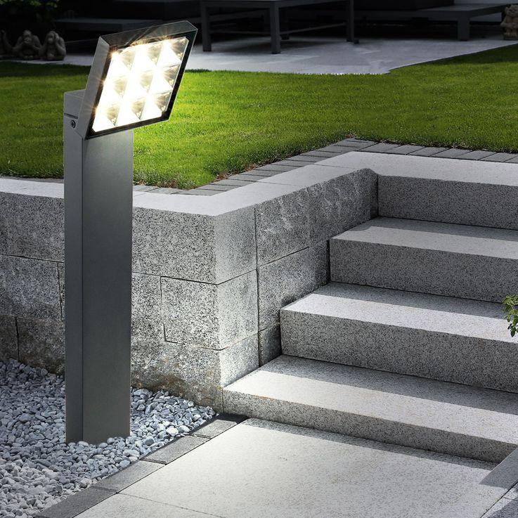 Design LED Steh- und Wandleuchte aus Aluminium Globo BOLTON  – Bild 6