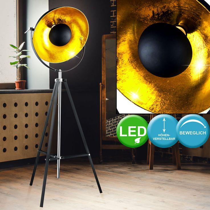 Lampadaires LED pour trépieds, réglable en hauteur, pivotant – Bild 5