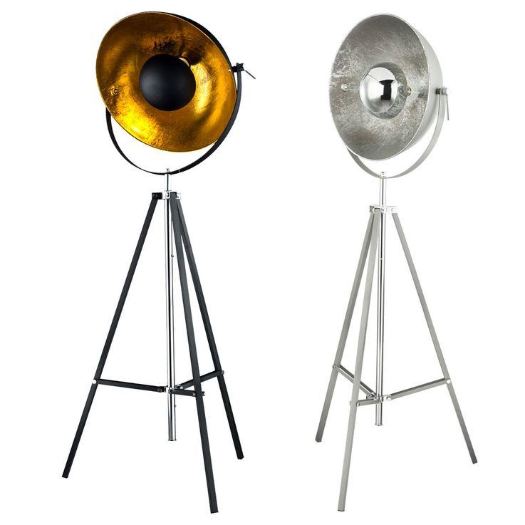 Lampadaires LED pour trépieds, réglable en hauteur, pivotant – Bild 1