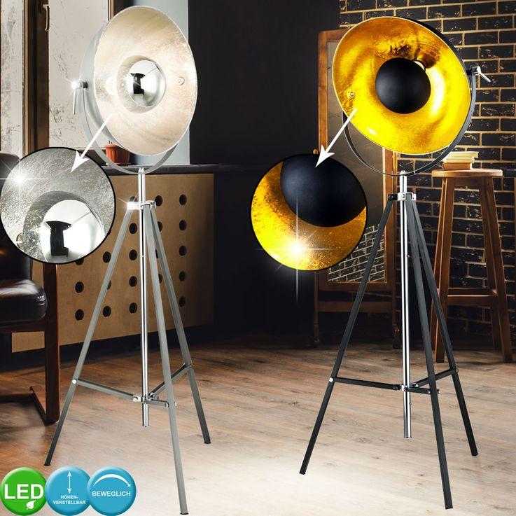 Lampadaires LED pour trépieds, réglable en hauteur, pivotant – Bild 2