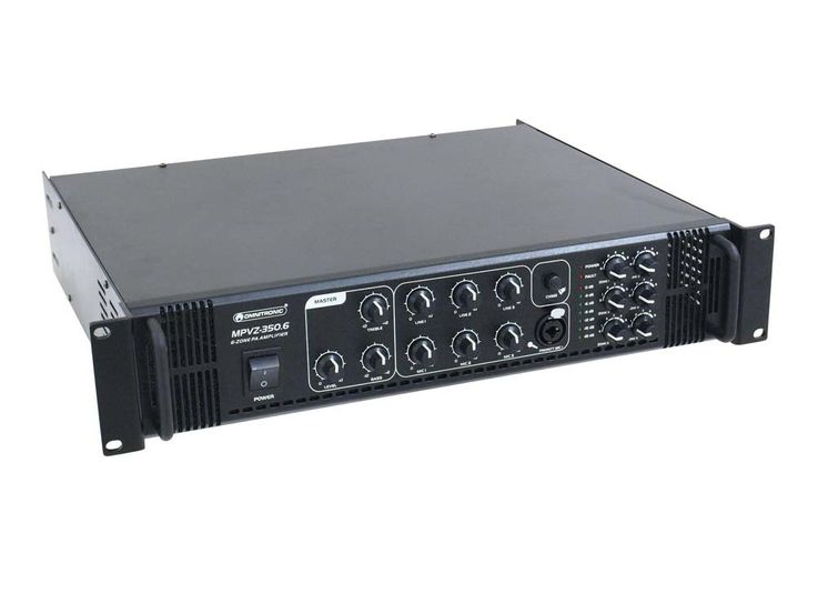 OMNITRONIC MPVZ-350.6 Mischverstärker – Bild 3