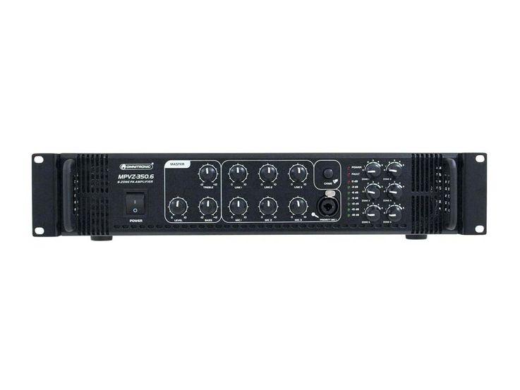OMNITRONIC MPVZ-350.6 Mischverstärker – Bild 5