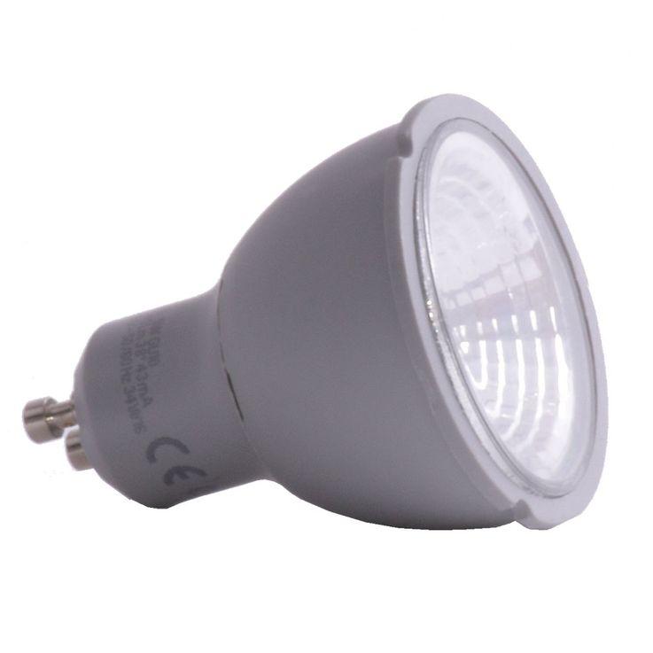 LED GU10 bulb 345 lumens reflector spotlight 5W bulb 3000 Kelvin EEK A + – Bild 1