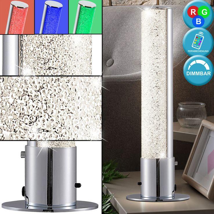 RGB LED Lampe de table Salon Cristal Éclairage Télécommande Dimmable  Nino  Lights 50030106 – Bild 2