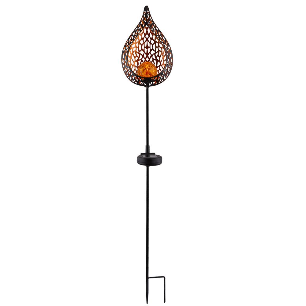 Solaire FlammeHauteur Lampe 90 LedDesign À Cm deCoBWrx