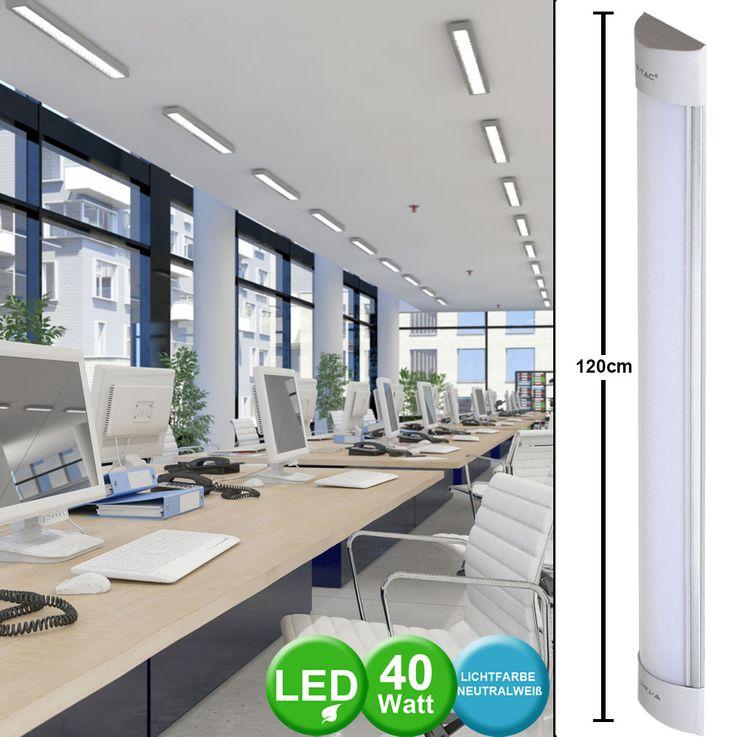 LED Decken Lampe Küchen Bade Zimmer Beleuchtung SAMSUNG CHIP Unterbau Leuchte V-TAC 666 – Bild 2