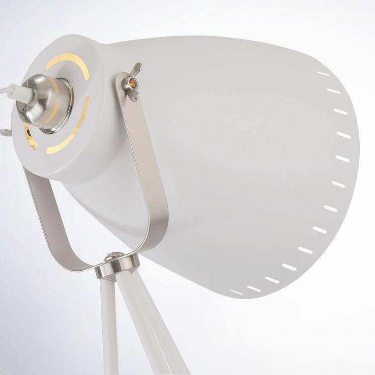 Industrie Stil Steh Leuchte Wohn Zimmer Stativ Stand Lampe Spot schwenkbar LeuchtenDirekt 11061-16 – Bild 3