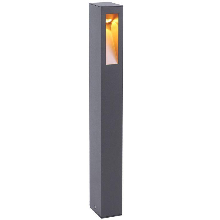 LED Außen Steh Leuchte Terrassen Beleuchtung ALU Einfahrt Stand Lampe Leuchten Direkt 9692-13 – Bild 1