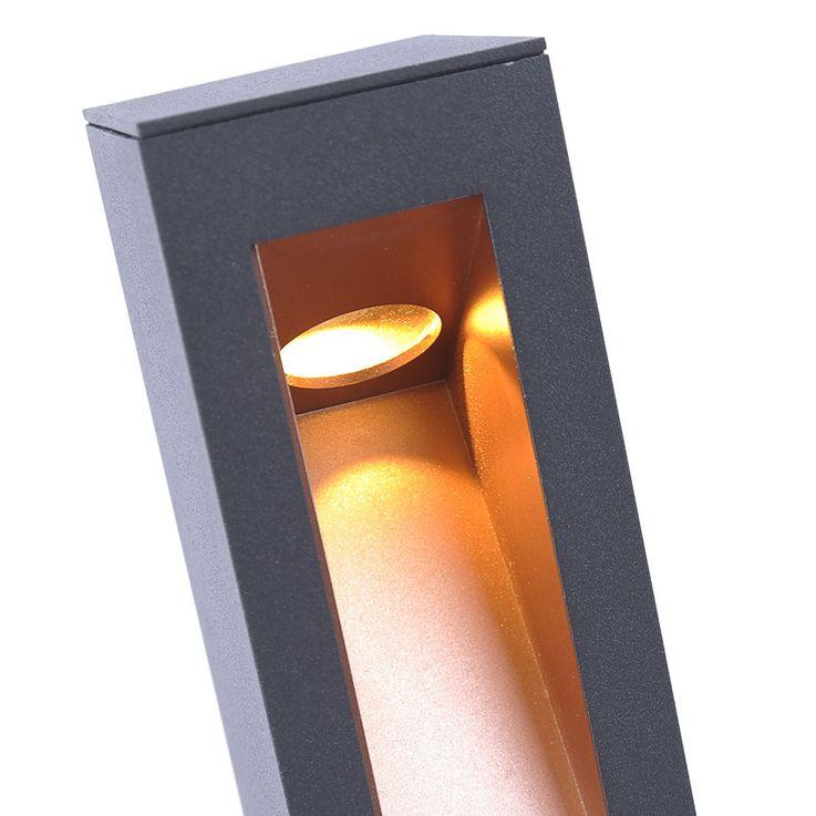 LED Außen Steh Leuchte Terrassen Beleuchtung ALU Einfahrt Stand Lampe Leuchten Direkt 9692-13 – Bild 7