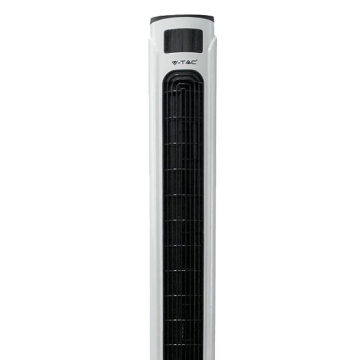 55W stand pillar tower fan white REMOTE CONTROL timer tower fan 70 ° oscillating V  -TAC 7902 – Bild 7