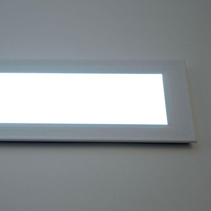 24 watts LED panneau encastré plafond CCT lampe circuit interrupteur mural réglable éclairage jour – Bild 11