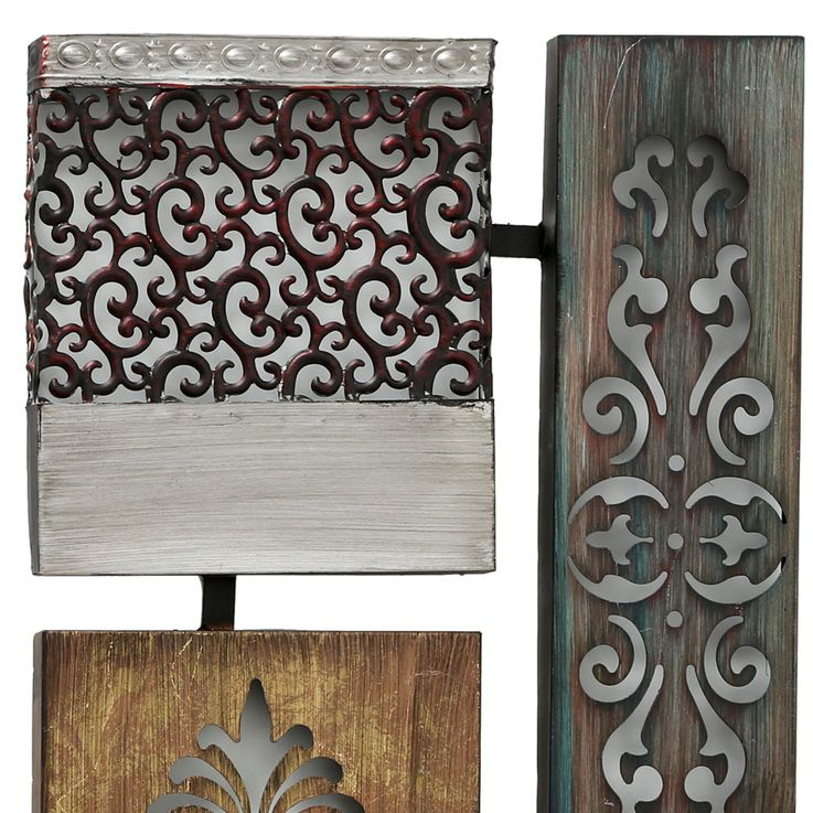 Design wall object relief iron picture ornament decoration hanging BOLTZE 6050800 – Bild 4