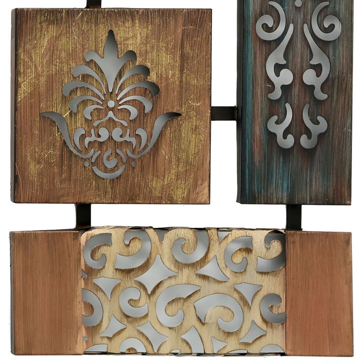 Design wall object relief iron picture ornament decoration hanging BOLTZE 6050800 – Bild 5