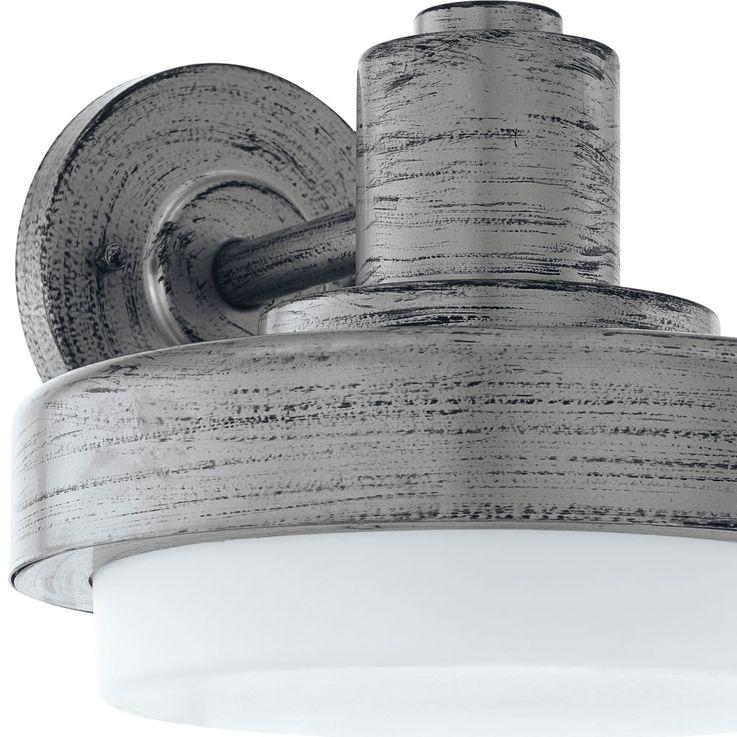 Applique à LED, argent antique, hauteur 18 cm, TOLLERA – Bild 5