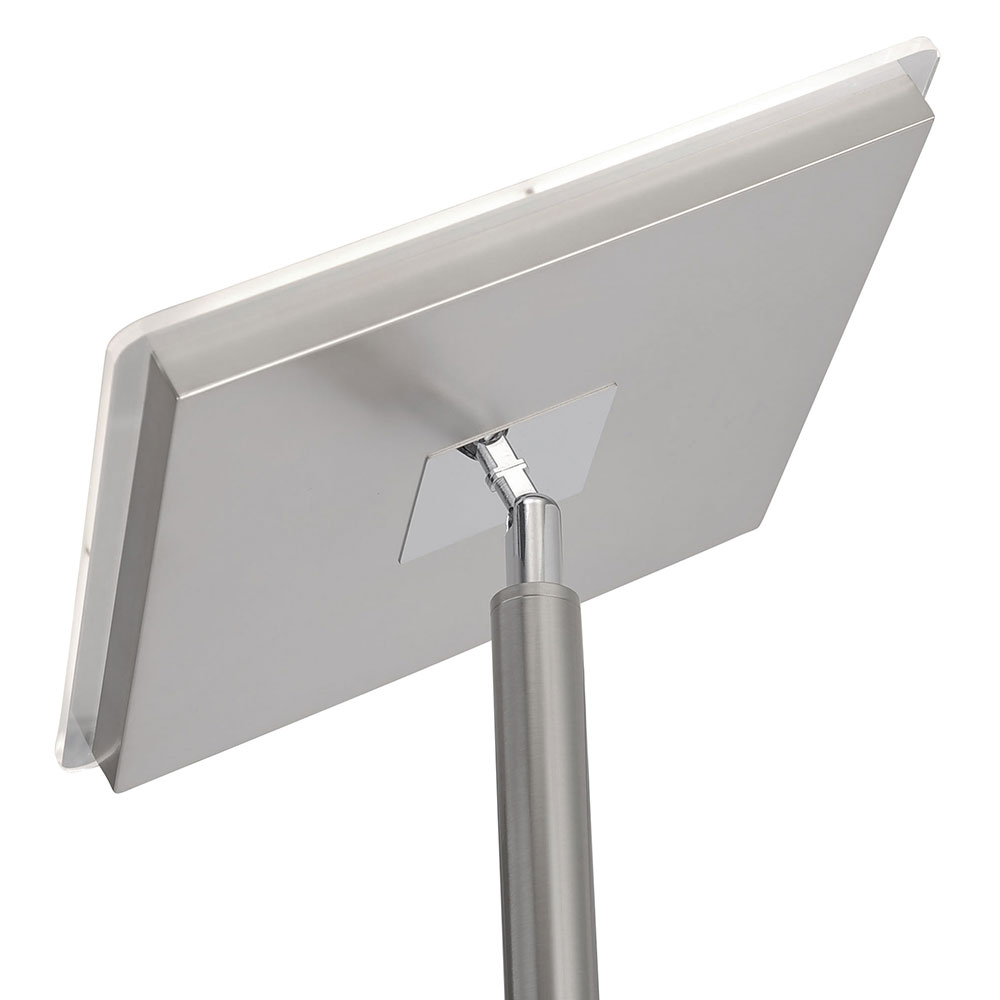 2400 Lumens 5 Head White LED Flexible Track Light Dimmable Contemporary Lamp