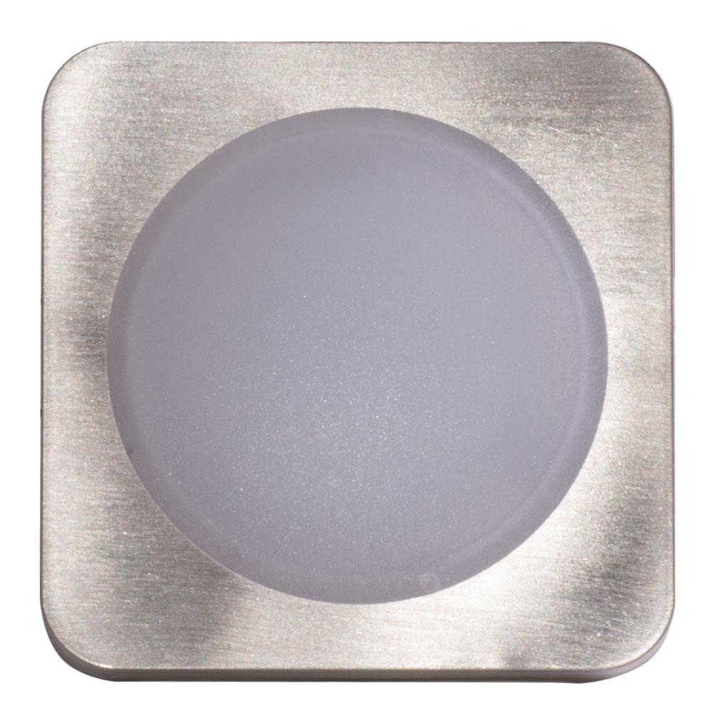 8er Set LED Einbaustrahler, eckig, L 8,2 cm, TINUS