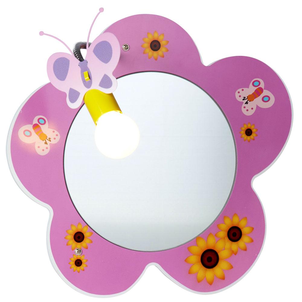 3,5 W RGB LED Tisch Leuchte Dimmer Lampe Kinder Schlaf Zimmer Beleuchtung Blüten