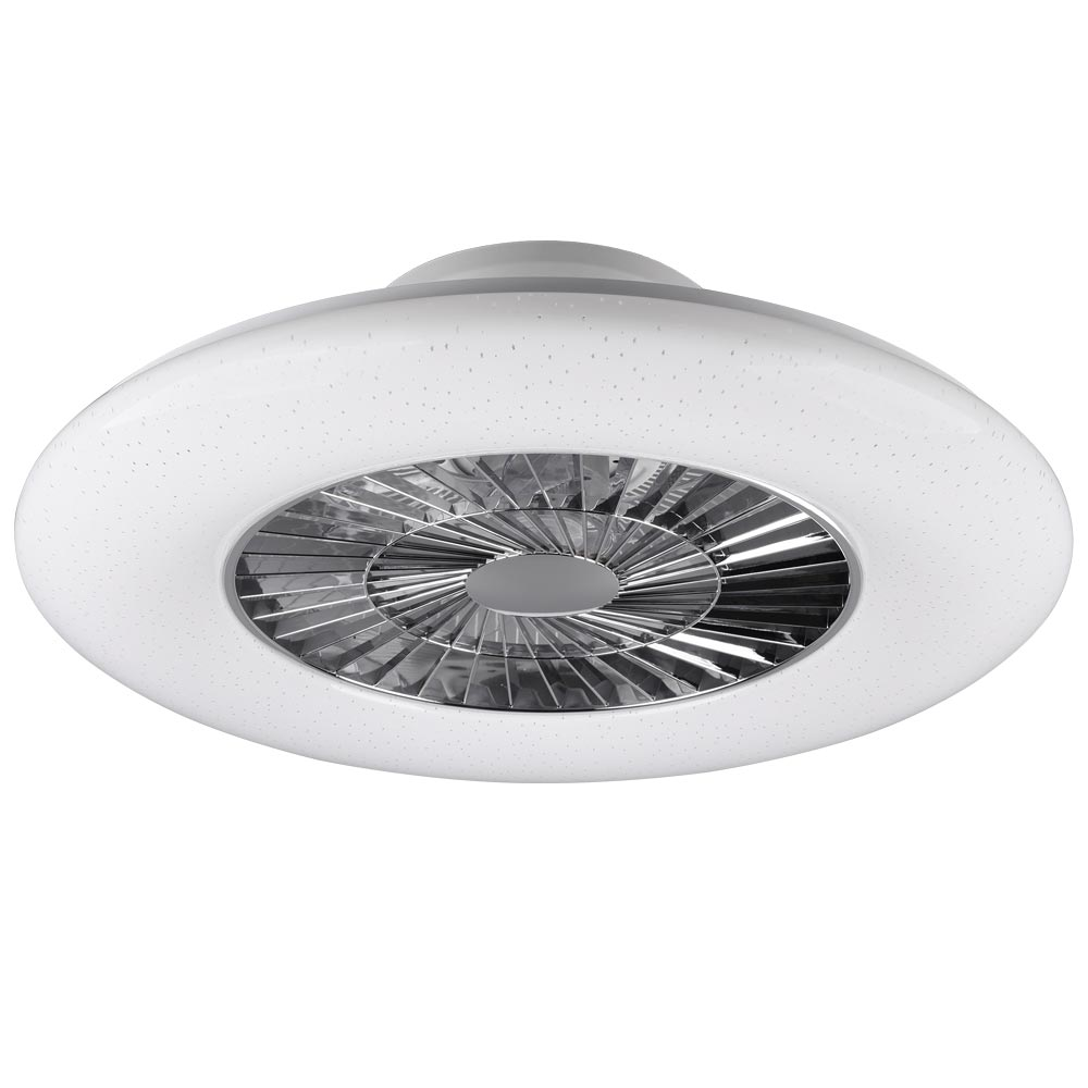 Led Ceiling Fan With Dimmable Lighting