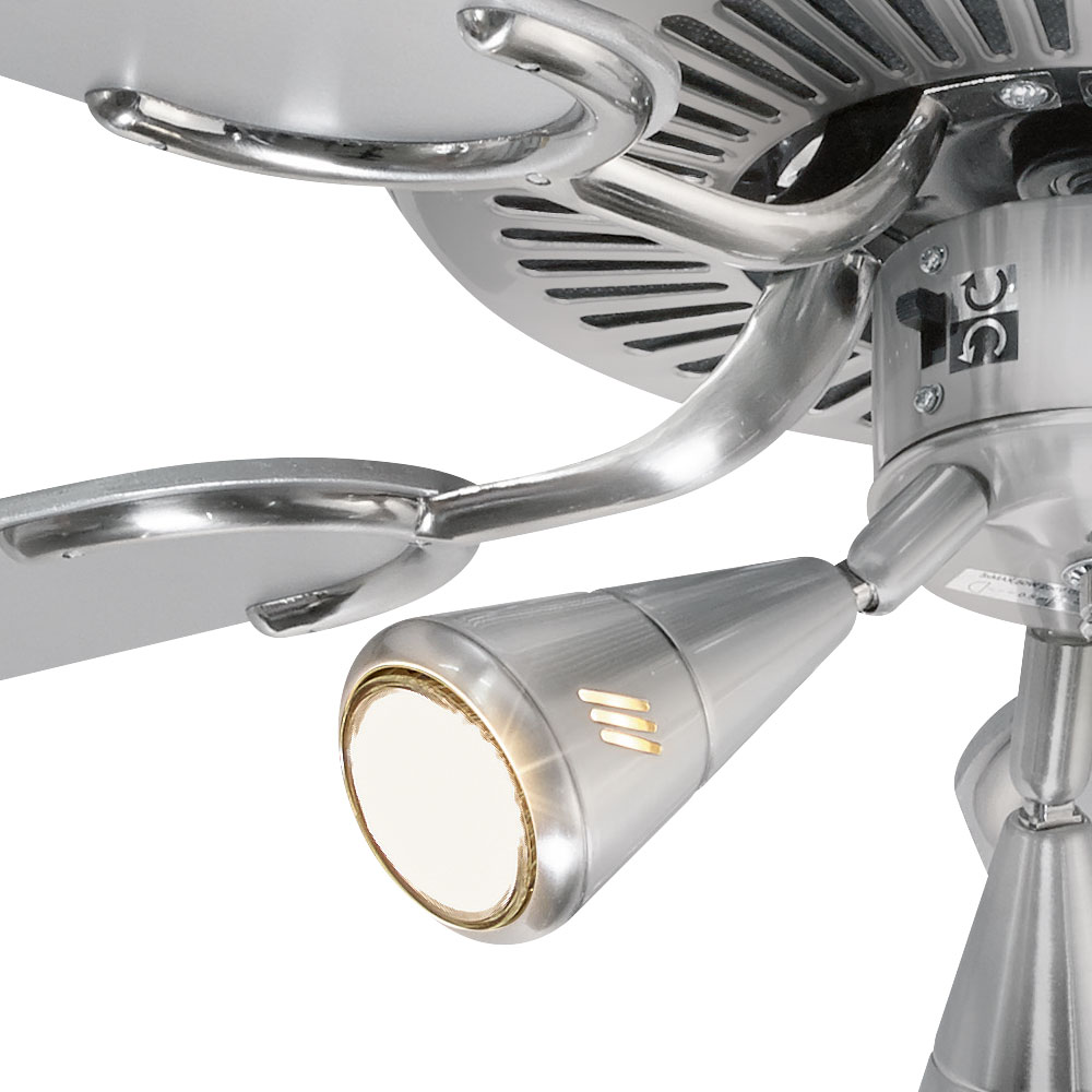Ceiling Fan With Lighting And Pull Switch