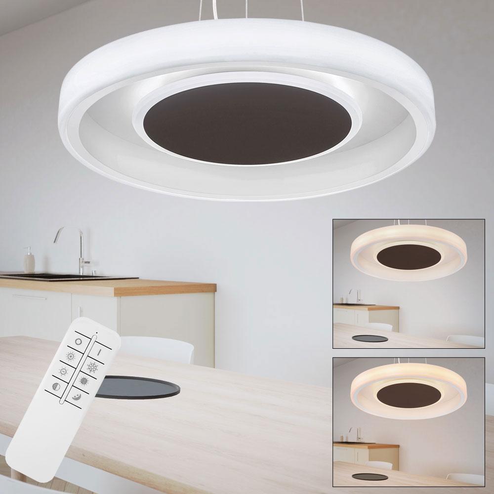 LED Hängelampe mit fixierbaren Farben