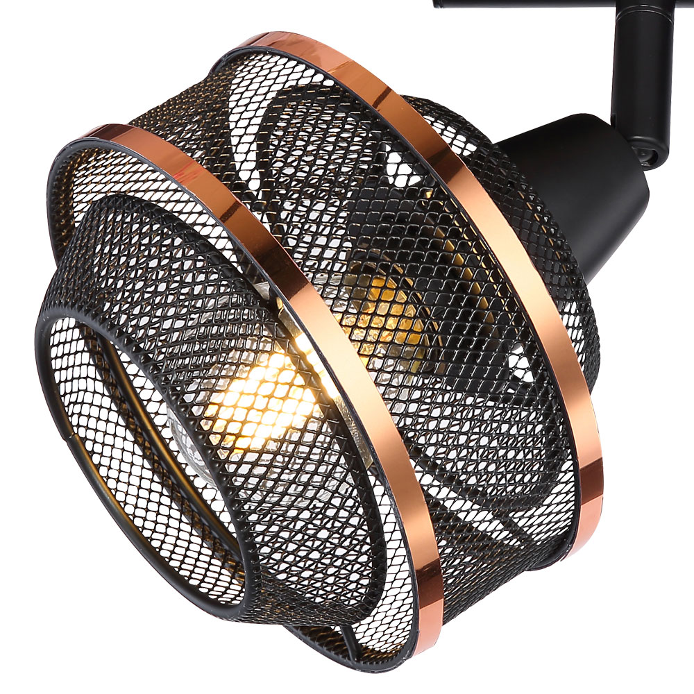Ceiling Lamp With 2 Movable Spots Bellona