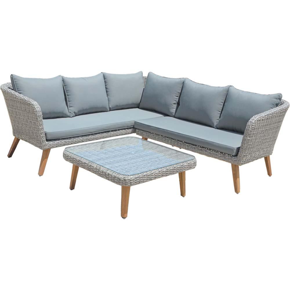 Loungemöbel - Lounge Set, grau, Harms PAMPLONA  - Onlineshop ETC Shop