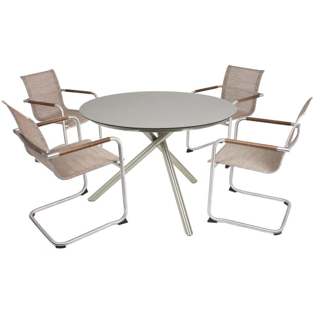 Gartenmöbel Sets - Tischgruppe, Harms 3053531 1 NOVA 5 tlg.  - Onlineshop ETC Shop