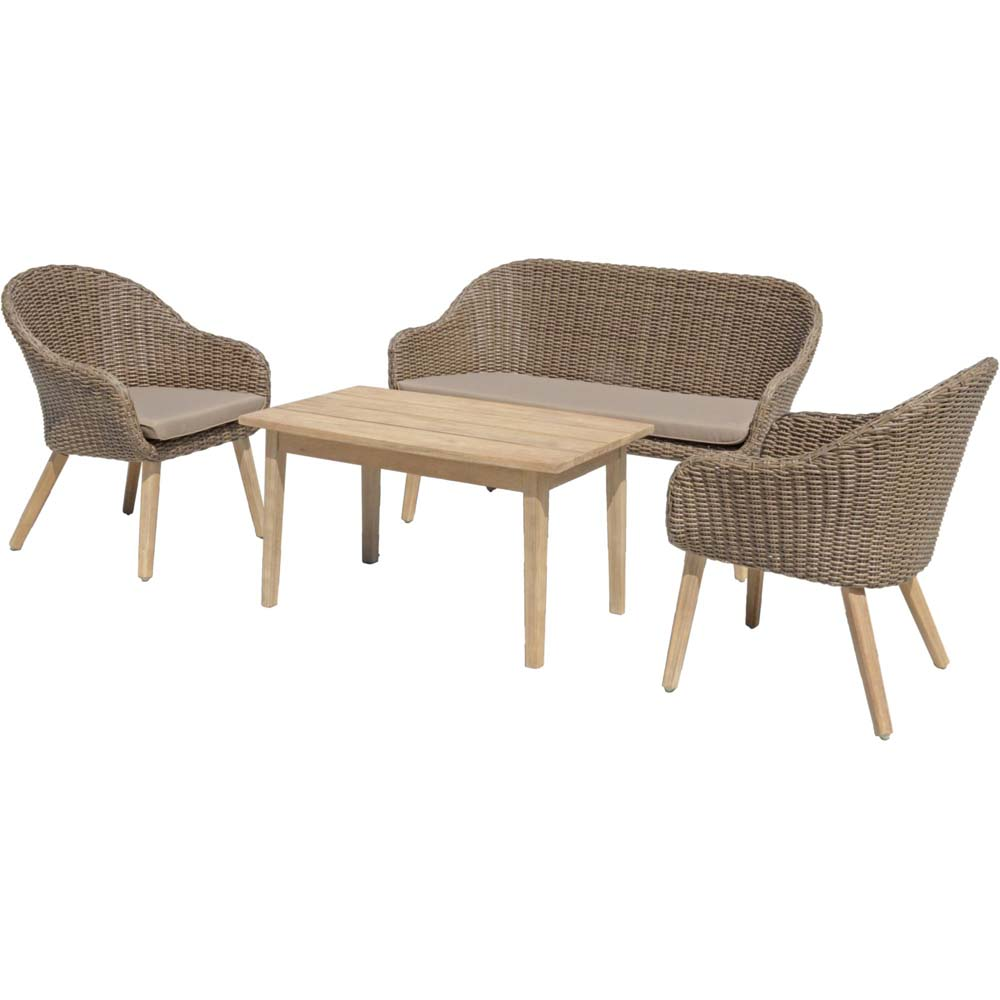 Loungemöbel - 4tlg. Lounge Gruppe, Harms PUEBLO  - Onlineshop ETC Shop
